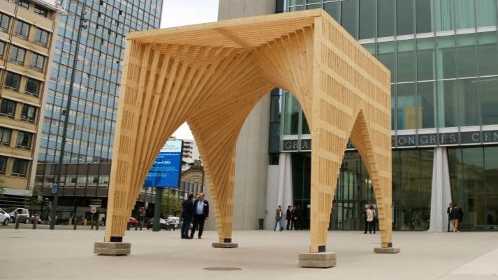 Forum international bois construction 2017 pinal for Construction bois vosges