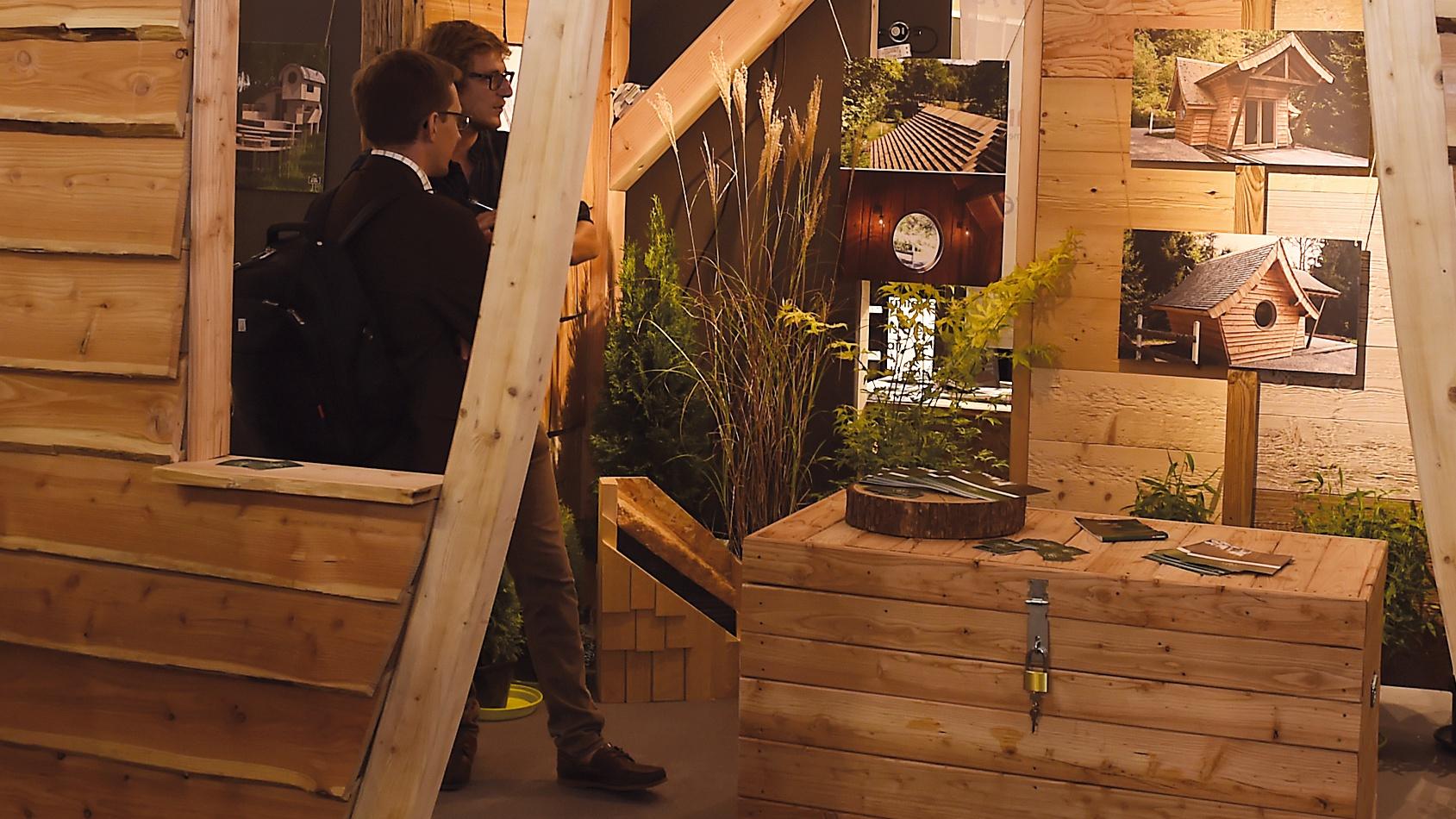 salon habitat et bois d pinal la modernit touche du bois