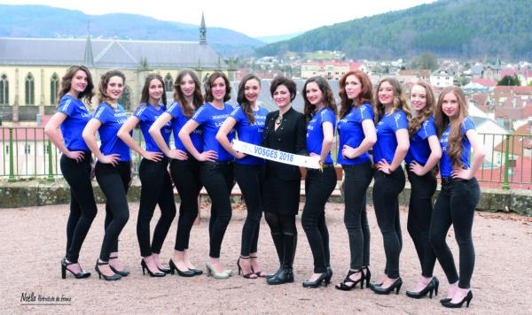 Miss Vosges 2018 : Remiremont révèle sa Belle des Vosges